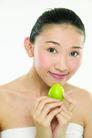 健康美容0078,健康美容,休闲保健,青果 顶住 下巴