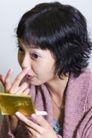 美容彩妆0024,美容彩妆,休闲保健,手指 鼻子 梳妆