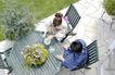生活剪影0059,生活剪影,休闲保健,俯拍 饮茶 时尚男女