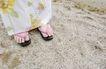生活剪影0079,生活剪影,休闲保健,粉红 女式 木拖鞋