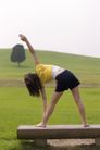 瑜珈美体0019,瑜珈美体,休闲保健,侧腰 体形 韧性