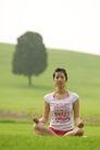 瑜珈美体0020,瑜珈美体,休闲保健,打坐 草地 静心