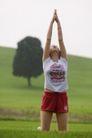 瑜珈美体0021,瑜珈美体,休闲保健,丽人 草地 锻炼