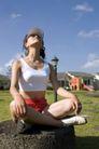 瑜珈美体0070,瑜珈美体,休闲保健,农舍 天空 美体