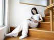 女性居家休闲0041,女性居家休闲,休闲保健,楼梯
