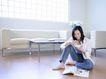 女性居家休闲0047,女性居家休闲,休闲保健,坐地上