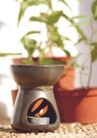 SPA物件0055,SPA物件,休闲保健,红花盆 香薰炉 蜡烛