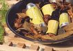SPA物件0066,SPA物件,休闲保健,木架 花瓣 药瓶