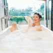 香氛沐浴0027,香氛沐浴,休闲保健,享受 洗澡 坐浴缸里