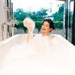 香氛沐浴0030,香氛沐浴,休闲保健,水泡 泡泡澡 玻璃窗