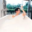 香氛沐浴0032,香氛沐浴,休闲保健,窗帘 浴缸 香薰