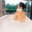 香氛沐浴0034,香氛沐浴,休闲保健,后背 泡沫 白色