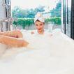香氛沐浴0042,香氛沐浴,休闲保健,白色泡泡
