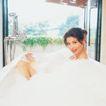 香氛沐浴0046,香氛沐浴,休闲保健,白色泡泡
