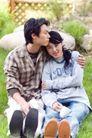 休闲时光0022,休闲时光,休闲保健,恋人 拥抱 草坪