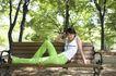 休闲时光0042,休闲时光,休闲保健,绿色裤子