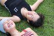 休闲时光0043,休闲时光,休闲保健,躺在草地上