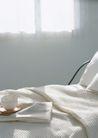 生活空间0071,生活空间,休闲生活,铺盖 茶杯 窗下
