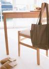 生活空间0081,生活空间,休闲生活,拖鞋 桌椅 背包