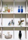 生活空间0092,生活空间,休闲生活,木架 红酒 花瓶