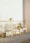 生活空间0095,生活空间,休闲生活,墙角 长椅 花盆