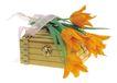 花饰小品0063,花饰小品,休闲生活,木箱 花束 花饰