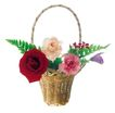 花饰小品0066,花饰小品,休闲生活,花篮 玫瑰 爱情