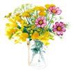 花饰小品0072,花饰小品,休闲生活,花簇 颜色 艳丽