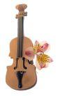 花饰小品0093,花饰小品,休闲生活,吉他 花瓣 音乐
