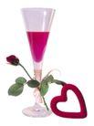花饰小品0100,花饰小品,休闲生活,玫瑰 酒杯 饮料