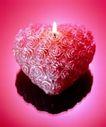 温馨烛光0006,温馨烛光,休闲生活,心烛 花纹 爱心