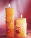 温馨烛光0008,温馨烛光,休闲生活,双烛 高矮 系绳