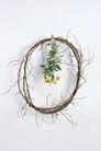 情人礼品0055,情人礼品,休闲生活,树枝 花环 黄花