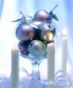 圣诞节0010,圣诞节,休闲生活,供果 白蜡 燃烧