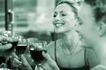 玻璃物品0080,玻璃物品,休闲生活,女人 大方 干杯