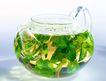 花草茶饮0045,花草茶饮,休闲生活,透明茶壶