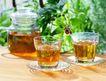 花草茶饮0075,花草茶饮,休闲生活,黄浓 茶液 透明