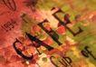 咖啡赏味0062,咖啡赏味,休闲生活,字母 绿叶 文字