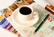 咖啡赏味0099,咖啡赏味,休闲生活,杂志 铅笔 咖啡