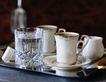 咖啡0095,咖啡,休闲生活,托盘 餐厅 服务