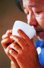 咖啡0128,咖啡,休闲生活,喝茶 品尝 杯子 消费者 老人