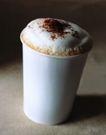 咖啡0130,咖啡,休闲生活,奶昔 泡沫 咖啡粉 白色纸杯 环保杯