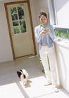 女性宠物0053,女性宠物,休闲生活,白门 绿叶 听话小狗