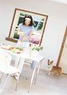 女性宠物0056,女性宠物,休闲生活,优雅生活 大居室 做饭