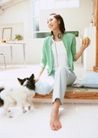 女性宠物0077,女性宠物,休闲生活,女人 宠物 玩耍