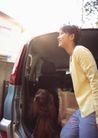 家庭宠物0057,家庭宠物,休闲生活,出发时间 车厢 宠物狗