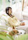 家庭宠物0070,家庭宠物,休闲生活,音乐 沙发 享受