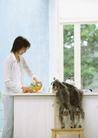 家庭宠物0071,家庭宠物,休闲生活,养狗 家居 女性