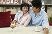 咖啡恋人0016,咖啡恋人,家庭情侣,怀抱 安全 温暖