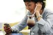 咖啡恋人0022,咖啡恋人,家庭情侣,白领 电话 耳机